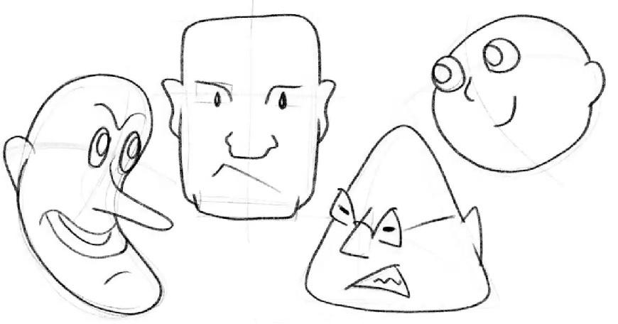 disegnare caricature